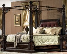 Savannah Collections Luxury Furniture Canopy Bed Drexel Heritage Marge Carson