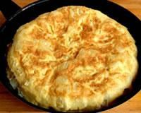 Omelette of mother Poulard - - Breakfast And Brunch, Breakfast Omelette, Egg Recipes, Kitchen Recipes, Brunch Recipes, Breakfast Recipes, Breakfast Ideas, Cooking Recipes, Omelettes