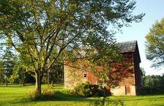 i dream of having a huge studio in a lovely red barn