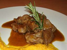 Chicken, Cubes, Branches, Food, Meat, Tomatoes, Onion, Dry White Wine, Essen