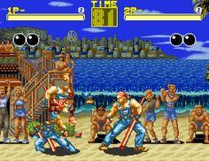 Fatal Fury 1 [SNES].