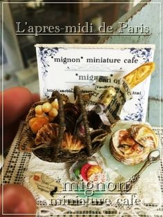 By mignon miniature cafe    ♡ ♡