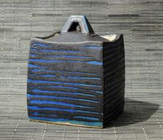 Altered Box blue and black by SequoiaMillerSQNYC12 on Etsy,