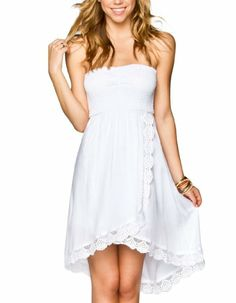 VOLCOM Lock Down Hi Low Dress