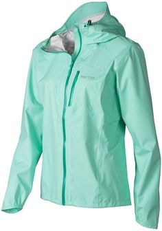 Updated for 2015! Weighing only 5 ounces, the fully waterproof/breathable Marmot Women's Essence Jacket is a great ultra-lightweight option for hikers, backpackers and climbers seeking lightweight and compressible protection from wet and windy weather.