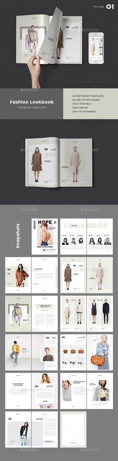 521 Best Lookbook Template images Brochure Design, Flyer design