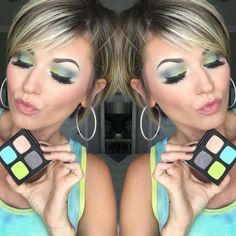 How to Save Money on Makeup – The Bluegrass Housewife - Eyeshadow Looks - Eye Makeup Free Makeup, Makeup Tips, Hair Makeup, Makeup Trends, Makeup Ideas, Smokey Eye Palette, Best Pixie Cuts, Perfect Brows, Modern Haircuts