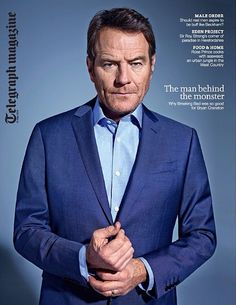 Coming in the Saturday Telegraph Magazine (May 10th): The one and only Mr. Bryan Cranston. Photograph by Lorenzo Agius.