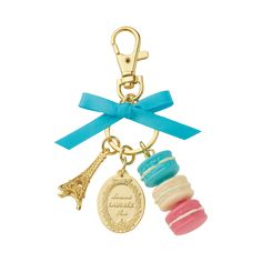 Ladurée Mint Keychain | Precious and sweet keychain to carry around with you wherever you go