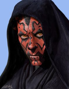 Darth Maul was always my favourite for his awesome body paint design.