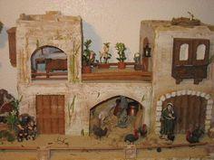 Risultati immagini per corrales para belenes Mini Craft, Miniature Houses, Portal, Nativity, Past, Miniatures, Decoupage, Woodworking, Paper Crafts