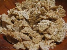 Rice Cake Popcorn, a suitable alternative if you can't have corn.