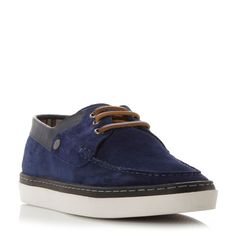 Original Penguin Hunter cupsole boat shoe, Blue