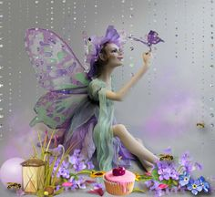 Undefined animated fairy wallpapers adorable wallpapers fairy wallpaper fairy dolls faeries mermaids ooak dolls miniature fairies lilac flowers beautiful dolls sweet tooth thecheapjerseys Images