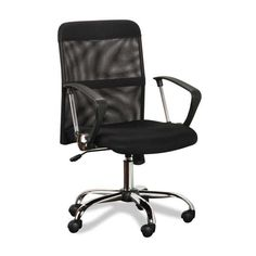 Black Mesh Back Office Chair 6086M