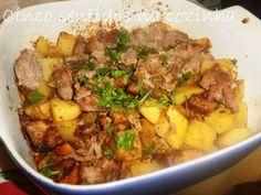 Cinco sentidos na cozinha: Carne de porco à portuguesa no forno