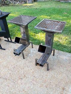 mit so einem raketen ofen rocket stove gelingt das kochen grill pinterest. Black Bedroom Furniture Sets. Home Design Ideas