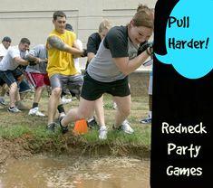 Redneck Party Games