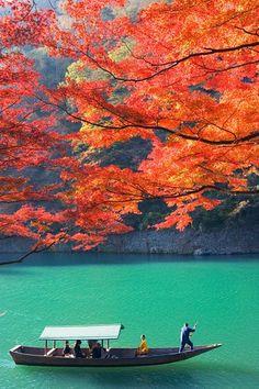 Beautiful autumn in Kyoto, Japan