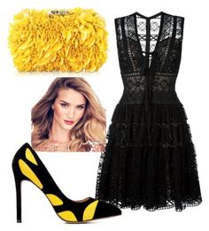 """""""beehive"""" by fashiontagboutique on Polyvore featuring Elie Saab and Corto Moltedo"""