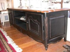 4 the love of wood: WHAT TO DO WITH THAT FRENCH CLASSIC - stereo cabinet