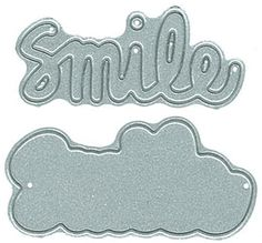 Say It - Smile - DIY Steel Die - PREORDER only - shipping 1/20