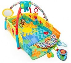 Give your baby a safe and exciting place to play with the Bright Starts Sunny Safari Baby's Play Place. When it comes to baby activity mats and gyms, there a Best Double Stroller, Double Strollers, Rock N Play Sleeper, Jigsaw Puzzles For Kids, Best Baby Carrier, Getting Ready For Baby, Activity Mat, Baby Diaper Bags, Jungle Safari