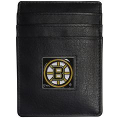 """Checkout our #LicensedGear products FREE SHIPPING + 10% OFF Coupon Code """"Official"""" Boston Bruins Leather Money Clip/Cardholder Packaged in Gift Box - Officially licensed NHL product Genuine fine grain leather wallet Credit card slots Magnetic money clip that will not damage your cards Metal Boston Bruins emblem with enameled team colors - Price: $22.00. Buy now at https://officiallylicensedgear.com/boston-bruins-leather-money-clip-cardholder-packaged-in-gift-box-hch20"""