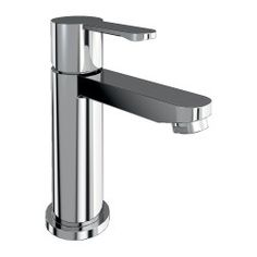 Britton Crystal mini basin mixer without pop up waste - Chrome