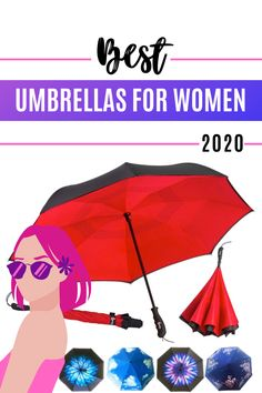 Don't settle for another boring black umbrella. There are a variety of umbrellas in 2020 that look good and shelters you from the rain, the wind & the sun! UPF 50 sun protection keeps you cool when it is sunny and hot! Comfortable handles and the more expensive pongee fabric are more Eco-Friendly than the cheaply made polyester fabric used in most umbrellas. #spfprotection #umbrellart #umbrellaphotography #uvprotection #travelgear Best Umbrella, Black Umbrella, Rain Umbrella, Kids Umbrellas, Umbrella Photography, Compact Umbrella, Don't Settle, Folding Umbrella, Dancing In The Rain