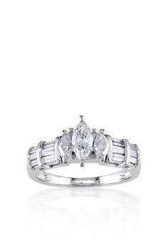 Belk  Co.  1 ct. t.w. Diamond Engagement Ring in 14k White Gold