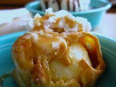 baked apples/apple dumplings