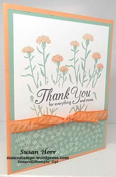Wild About Flowers, One Big Meaning, Stampin Up, susanstamps.wordpress.com