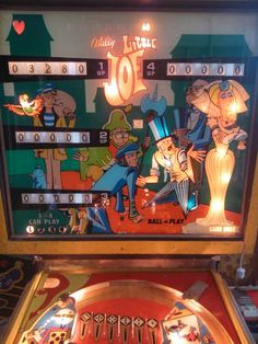 Little joe Pinball Wizard, Arcade, The Past, Games, Artwork, Vintage, Work Of Art, Auguste Rodin Artwork, Gaming