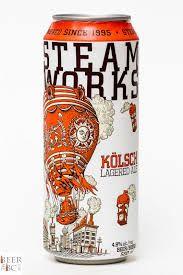 Steamworks Brewing Kolsch Lagered Ale