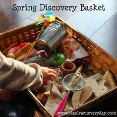 Spring Discovery Basket