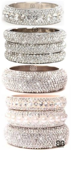 Crystal Bangles✤ | Keep the Glamour | BeStayBeautiful