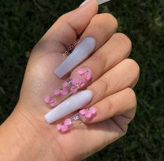 Cute acrylic nails are readily available on our web pages. look at this and you wont be sorry you did. Summer Acrylic Nails, Best Acrylic Nails, Summer Nails, Pink Acrylic Nail Designs, Classy Acrylic Nails, Spring Nails, Nail Swag, Perfect Nails, Gorgeous Nails