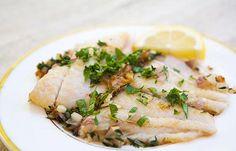 sole fish recipes | Sautéed Petrale Sole in Herb Butter Sauce Recipe | Simply Recipes
