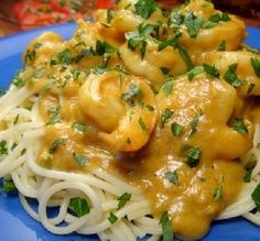 Recipe of the Day: Curried Shrimp in Peanut Sauce