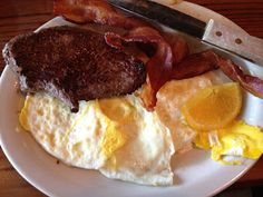Steak, Eggs and Bacon