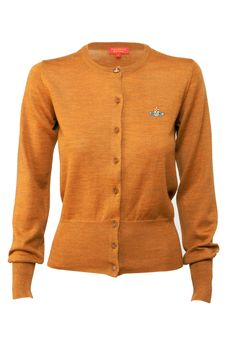 ADORE this colour. classic vivienne westwood knitwear cardigan, £195