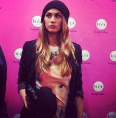 Melissa Satta wears Bflak!