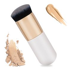 New chubby pier foundation brush flat the portable BB cream makeup brush Professional Beauty tools