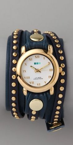 Love these La Mer watches.
