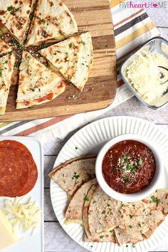 Pizza Quesadillas | 19 Insane Pizza Mashups That Are Delicious AF