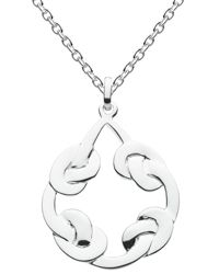 Kit Heath Large Open Celtic Knot Necklace
