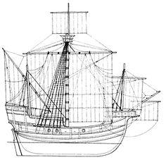 корабль викингов чертеж - Поиск в Google