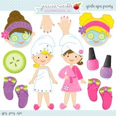 Girls Spa Party