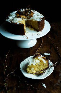 Honey soaked cake recipe